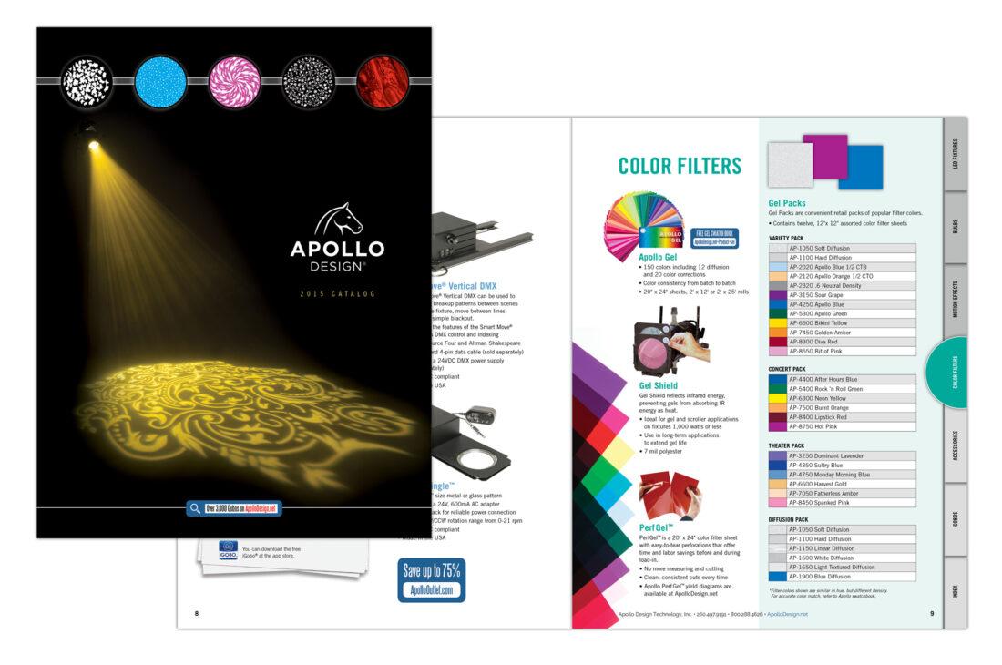 apollo catalog design
