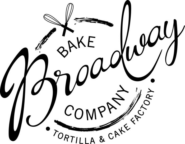 broadway bake company logo design