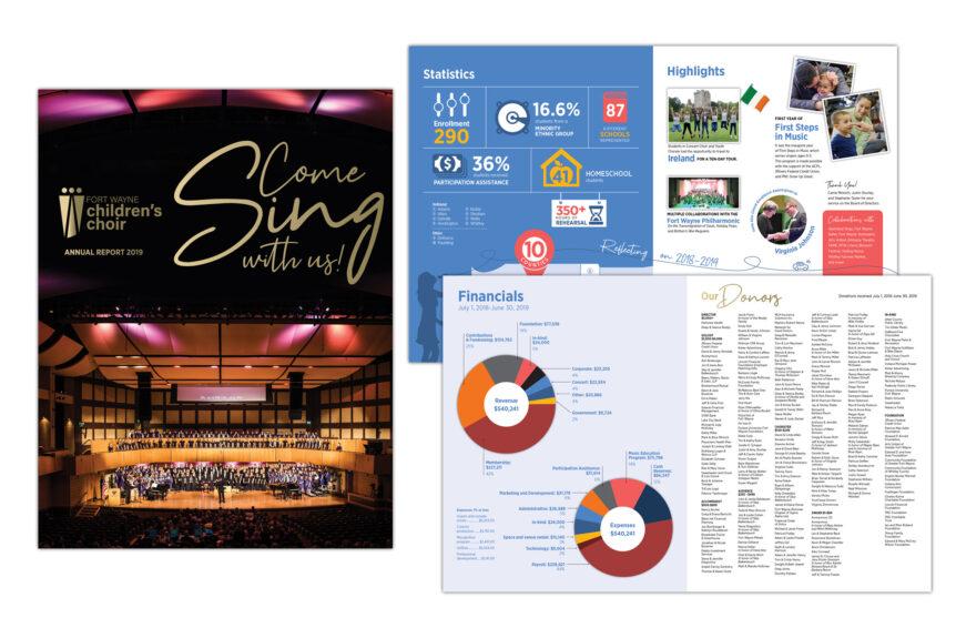 fort wayne children's choir annual report