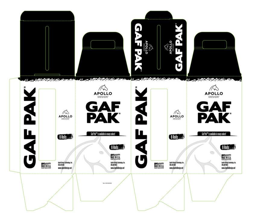 gaf pak tape packaging