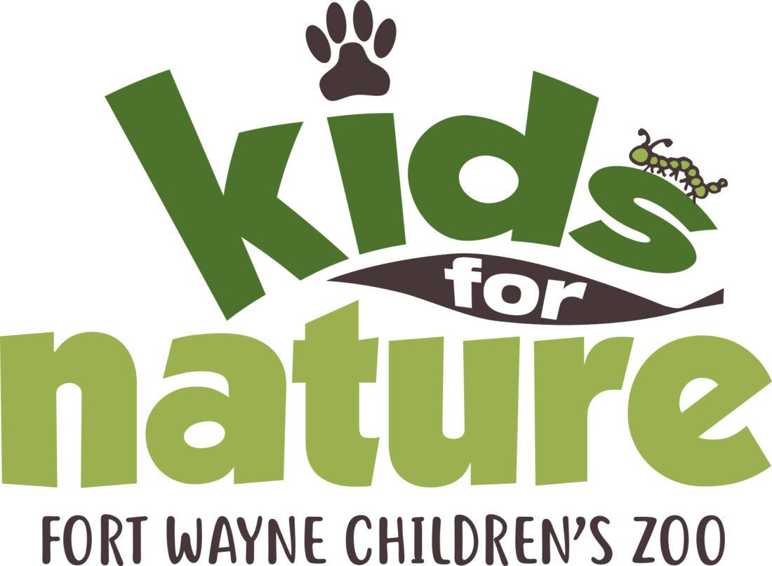 fort wayne children's zoo kids for nature logo design