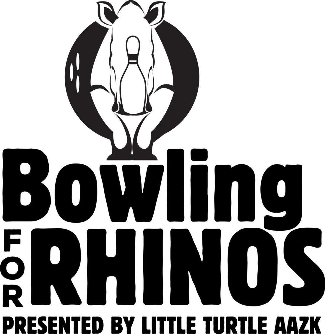 bowling for rhinos logo