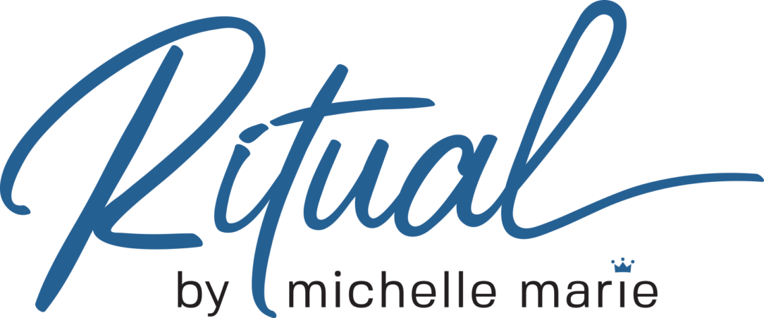 ritual by michelle marie logo design
